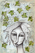 Gardener Mixed Media - Ivy by Karen Kay