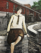 Wartime Prints - Ivy Philpott Print by Reb Frost