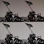 U S Flag Originals - Iwo Jima by Rob Hans
