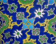 Topkapi Prints - Iznik Tiles in Topkapi Palace Istanbul  Print by Gonul Engin YILMAZ