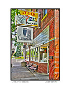 J.g Prints - J and G Pizza Palace Print by Jack Schultz