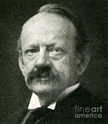 Knighted Metal Prints - J. J. Thomson, English Physicist Metal Print by Science Source
