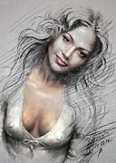 J L0 Print by Ylli Haruni