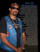 Bands Pastels - J Mack Prez Of The Clearwater BikerBoyz by Albert Dekota Sanchez