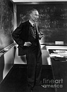 Physicist Framed Prints - J. Robert Oppenheimer, American Framed Print by Science Source