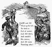 Jack And Jill Print by Granger