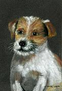 Puppy Pastels - Jack by Arline Wagner