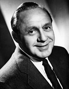 Benny Framed Prints - Jack Benny, 1960 Framed Print by Everett