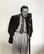 Microphone Prints - Jack Benny, Ca 1930s Print by Everett