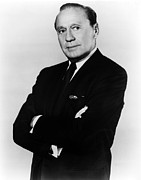 Benny Framed Prints - Jack Benny, Circa 1950s Framed Print by Everett