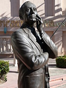 Statue Of Jack Benny Prints - Jack Benny Print by Jeff Lowe