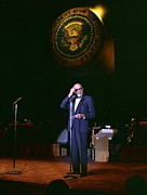 Lyndon Johnson Presidency Framed Prints - Jack Benny Performs For A Democratic Framed Print by Everett