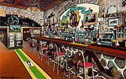 Greenwich Village Paintings - Jack Delaneys Saddle Bar In Greenwich Village by Dwight Goss