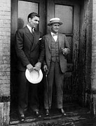 Dempsey Framed Prints - Jack Dempsey And Tex Richard, New York Framed Print by Everett