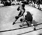 Boxing  Photo Prints - Jack Dempsey Print by Granger