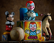Horse Toys Posters - Jack In The Box Poster by Bob Nardi