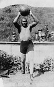 Heavyweight Photos - Jack Johnson 1878-1946 The First by Everett