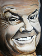 Jack Nicholson Painting Originals - Jack by Kirsten Reifeiss