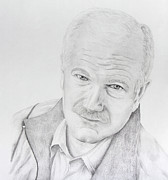Leader Drawings Prints - Jack Layton Print by Daniel Young
