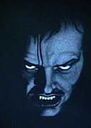 Horror Movies Drawings - Jack by Leo Strawn Jr