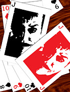 Jack Nicholson Digital Art - Jack Nicholson - The Jokers Crooked Card Game by Saad Hasnain
