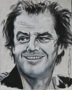 Actors Mixed Media Prints - Jack Nicholson Print by Eric Dee