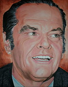 Portraits By Timothe Framed Prints - Jack Nicholson Framed Print by Timothe Winstead