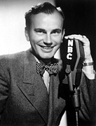 Bowtie Metal Prints - Jack Paar, 1950 Metal Print by Everett