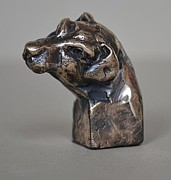 Animal Sculpture Originals - Jack Russell by Edward  Waites
