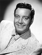 1950s Portraits Photo Metal Prints - Jackie Gleason, Ca. 1950 Metal Print by Everett