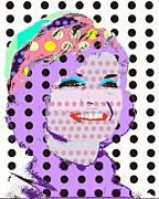First Lady Digital Art Originals - Jackie O by Ricky Sencion