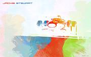 Jackie Stewart Print by Irina  March
