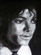 Michael Jackson Art - Jackson by Michael Henzel