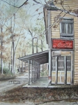 Country Store Painting Framed Prints - Jackson Springs Framed Print by Charles Roy Smith