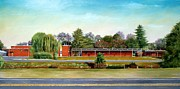 Arkansas Paintings - Jacksonville Elementary School by RB McGrath