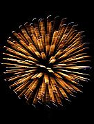 Pyrotechnics Prints - Jackstraws Print by David Dunham