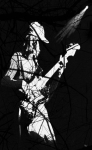 Bass Guitar Prints - Jaco Print by Ken Walker