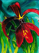 Carol Mclagan Art - Jacobean Lily by Carol McLagan