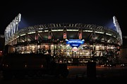 Allstar Metal Prints - Jacobs Field Metal Print by Robert Harmon