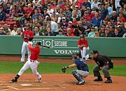 Mlb Metal Prints - Jacoby Ellsbury Metal Print by Juergen Roth