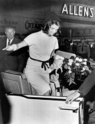 Two Piece Photos - Jacqueline Kennedy Balances Gracefully by Everett