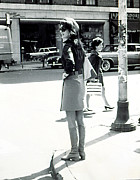 Onassis Framed Prints - Jacqueline Kennedy Onassis, Walking Framed Print by Everett
