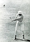 Golf Pants Prints - Jacqueline Kennedy, Playing Golf Print by Everett