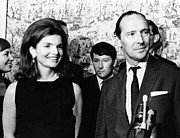 British Celebrities Posters - Jacqueline Kennedy With David Poster by Everett