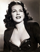 Author Metal Prints - Jacqueline Susann In 1946 Metal Print by Everett