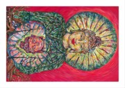 Jade Buddah Print by Joseph Lawrence Vasile