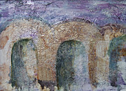 Subtle Colors Prints - Jaffa Archway Print by Jillian Goldberg