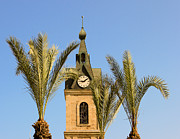 Jaffa Photos - Jaffa Clock Tower by Amr Miqdadi