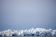 Icebergs Art - Jagged Icebergs On The Ocean by Pete Ryan