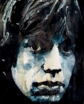 Mick Jagger Painting Metal Prints - Jagger no3 Metal Print by Paul Lovering